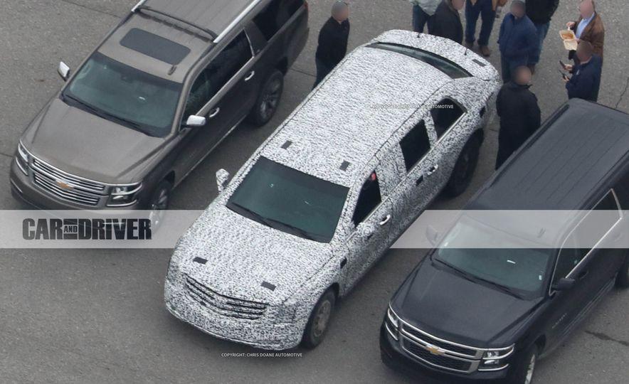 Cadillac Presidential Limousine (spy photo) - Slide 10