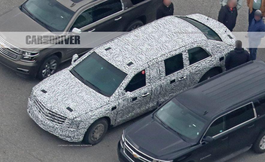 Cadillac Presidential Limousine (spy photo) - Slide 11