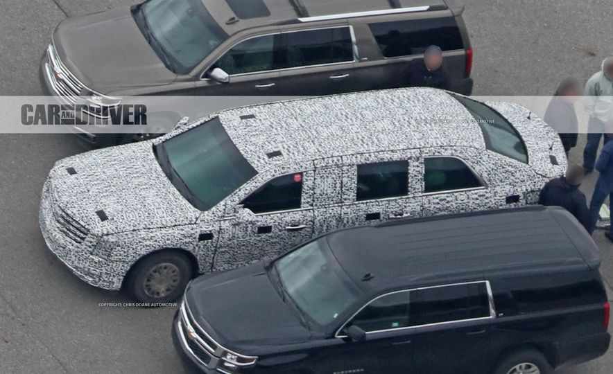 Cadillac Presidential Limousine (spy photo) - Slide 12