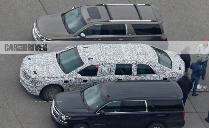 Cadillac Presidential Limousine (spy photo) - Slide 13