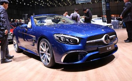 The Red and the Blue: Mercedes-Benz SL Designo Edition