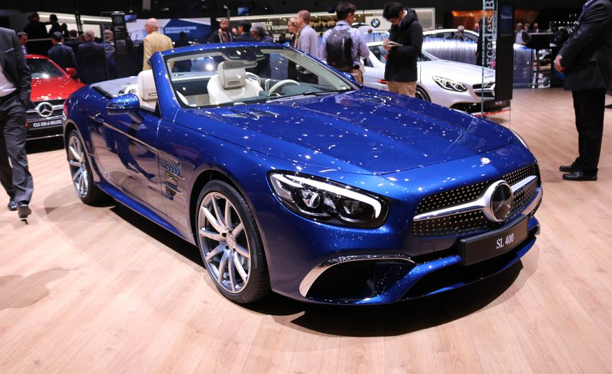 2017 Mercedes-Benz SL Roadster Designo Edition - Slide 2