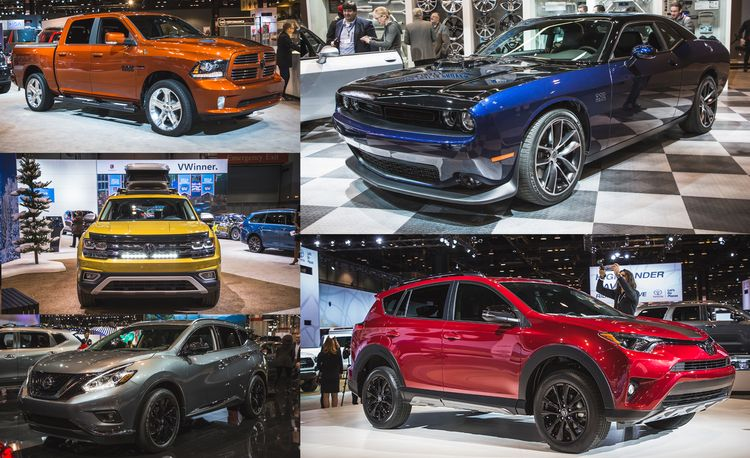 The 2017 Chicago Auto Show Is All about the Trim Levels and Special Editions