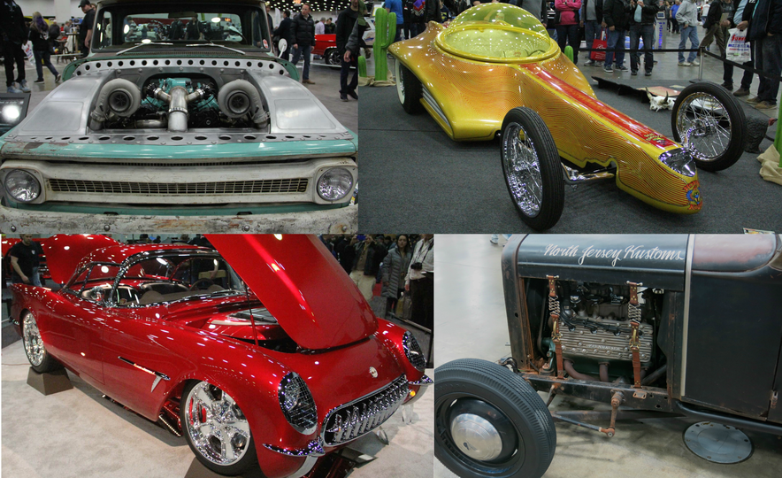 Hottest Rods: The Coolest Custom Classics from the 2017 Autorama Show - Slide 1
