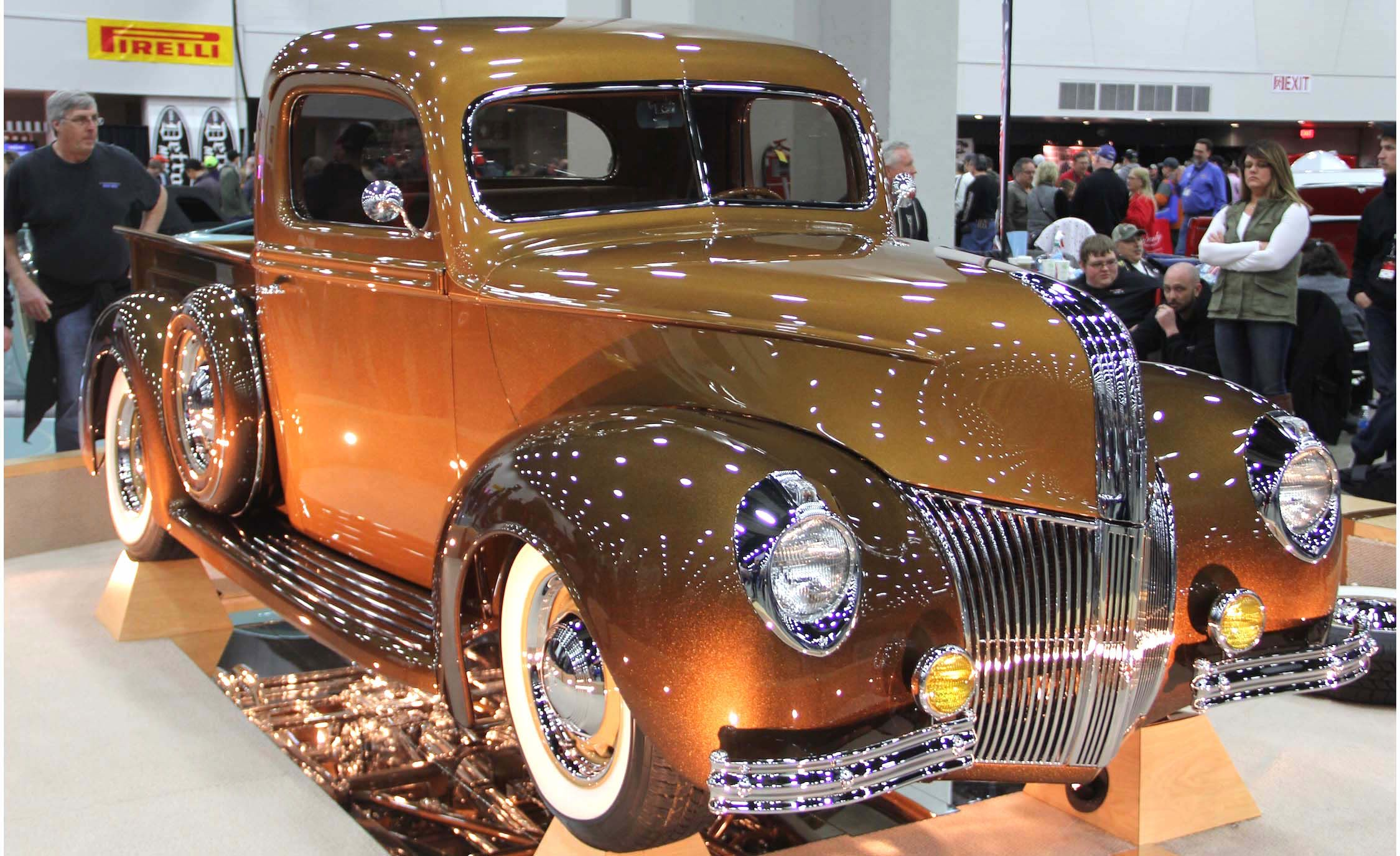 Hottest Rods The Coolest Custom Classics From 2017 Autorama Show 1948 Ford Pickup Hot Rod