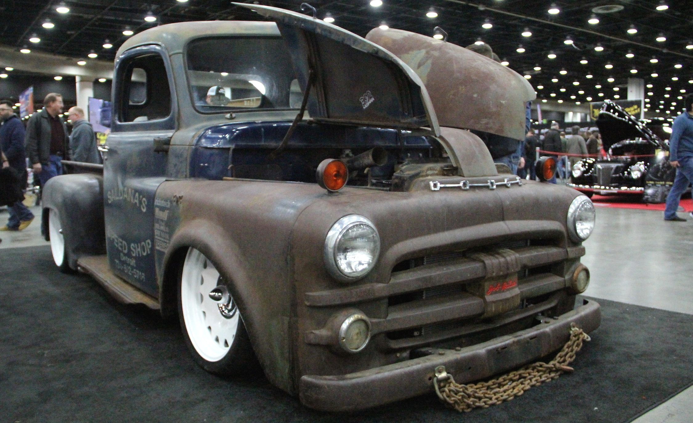 Hottest Rods The Coolest Custom Classics From 2017 Autorama Show 1949 Dodge D100 Truck For Sale