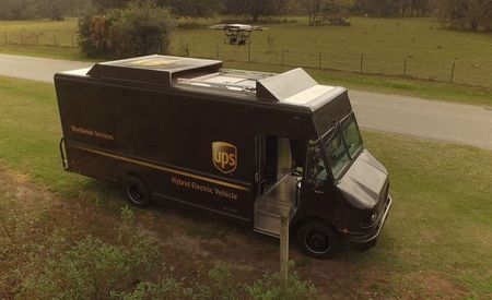 Big Brown Drones: UPS Moves Closer to Autonomous Delivery from Its Trucks [Video]
