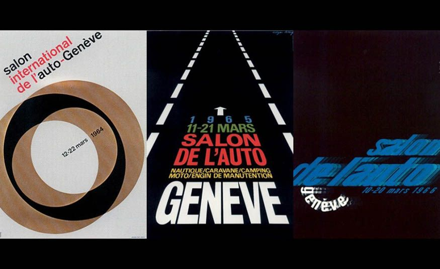 See Every Geneva Auto Show Poster from 1924 to 2017 - Slide 13