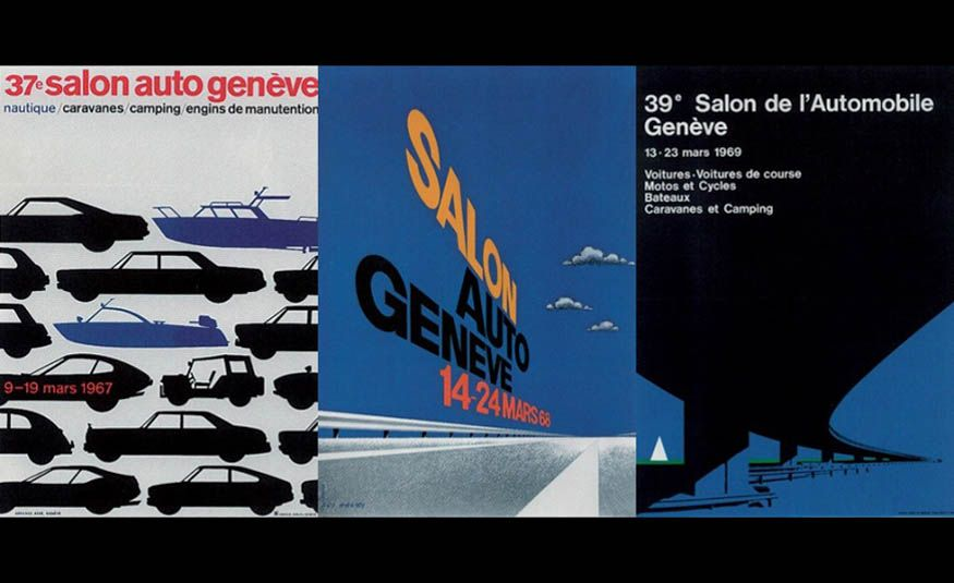 See Every Geneva Auto Show Poster from 1924 to 2017 - Slide 14
