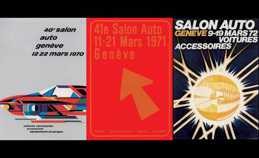 See Every Geneva Auto Show Poster from 1924 to 2017 - Slide 15