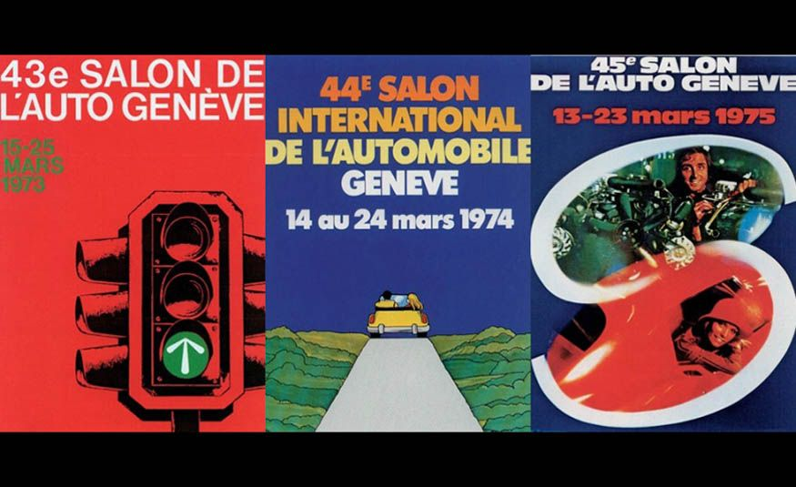 See Every Geneva Auto Show Poster from 1924 to 2017 - Slide 16