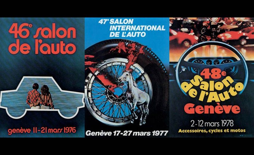 See Every Geneva Auto Show Poster from 1924 to 2017 - Slide 17