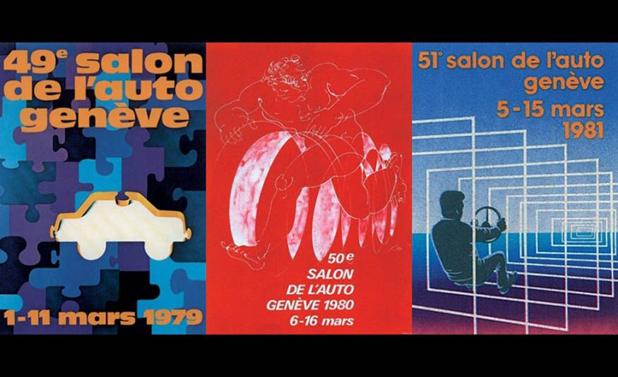 See Every Geneva Auto Show Poster from 1924 to 2017 - Slide 18