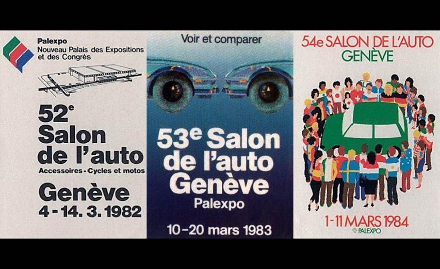 See Every Geneva Auto Show Poster from 1924 to 2017 - Slide 19