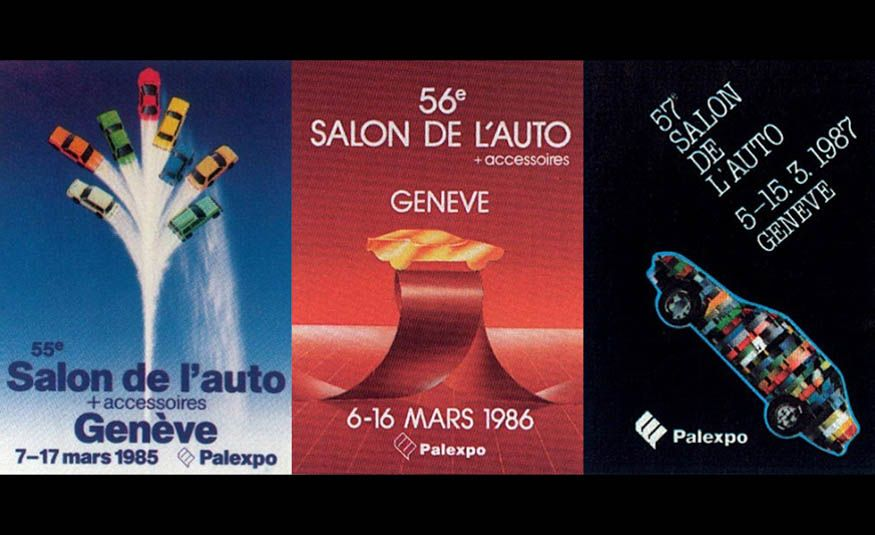 See Every Geneva Auto Show Poster from 1924 to 2017 - Slide 20