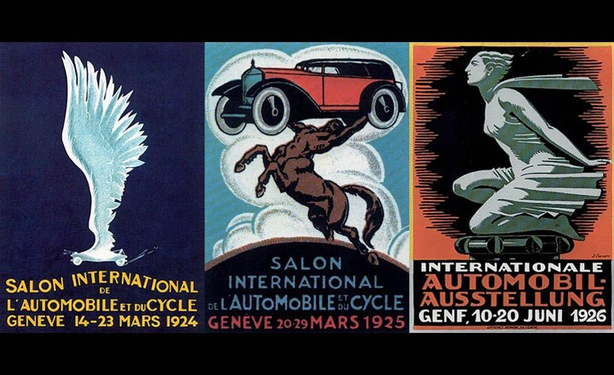 See Every Geneva Auto Show Poster from 1924 to 2017 - Slide 2