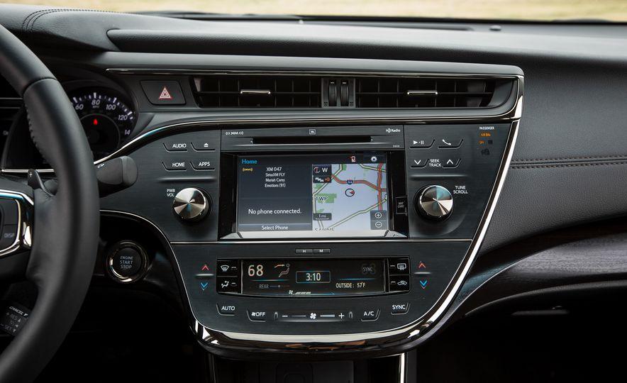 2016 Toyota Avalon Limited - Slide 31