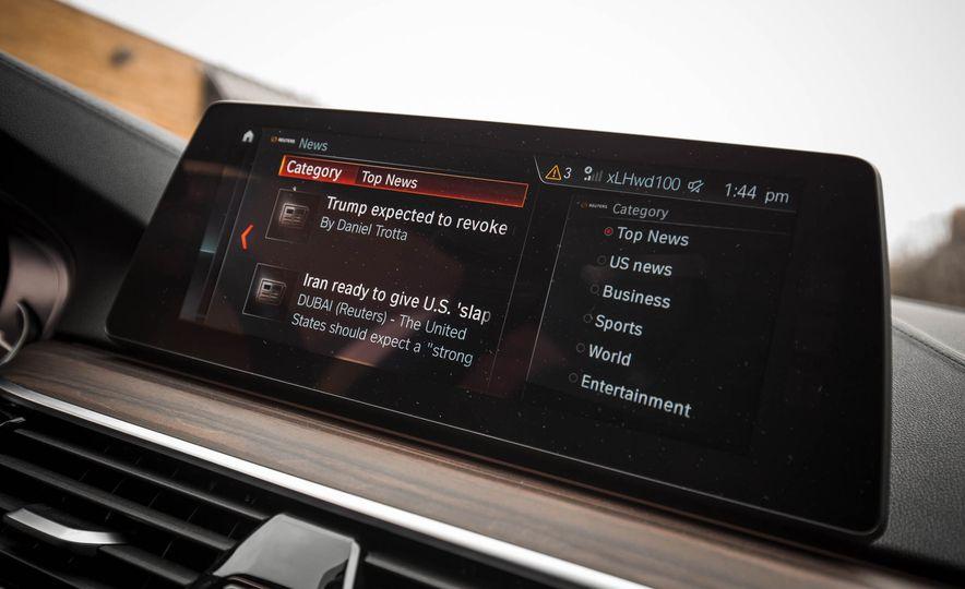 2017 BMW 540i xDrive - Slide 55