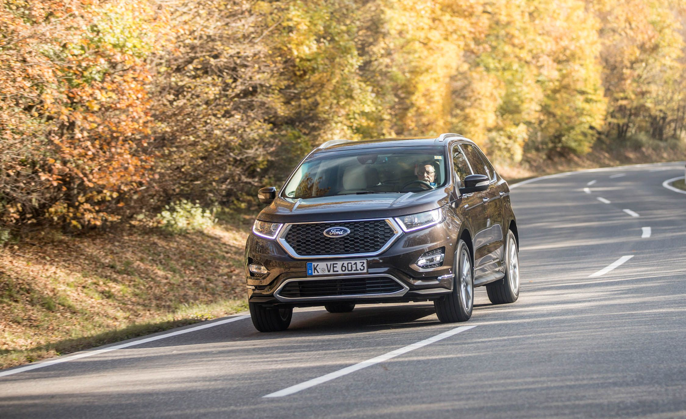 Ford Edge Vignale On The Edge Of Pretension First Drive Review