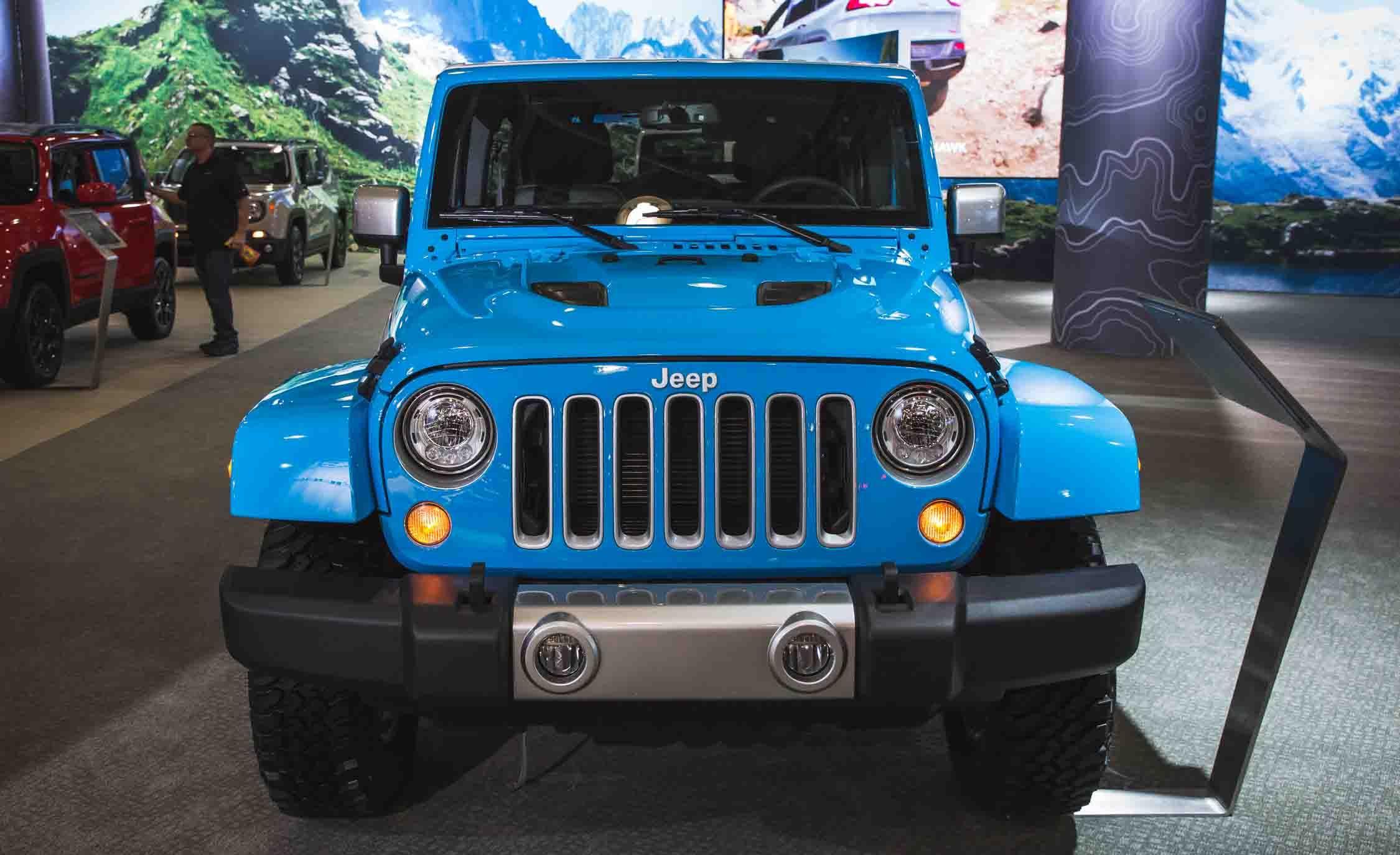 2017 Jeep Wrangler Unlimited 4door Pictures  Photo Gallery  Car