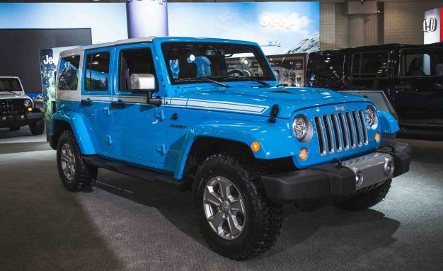 The Jeep Wrangler Chief Limited Edition Is A Thing News Car And Driver