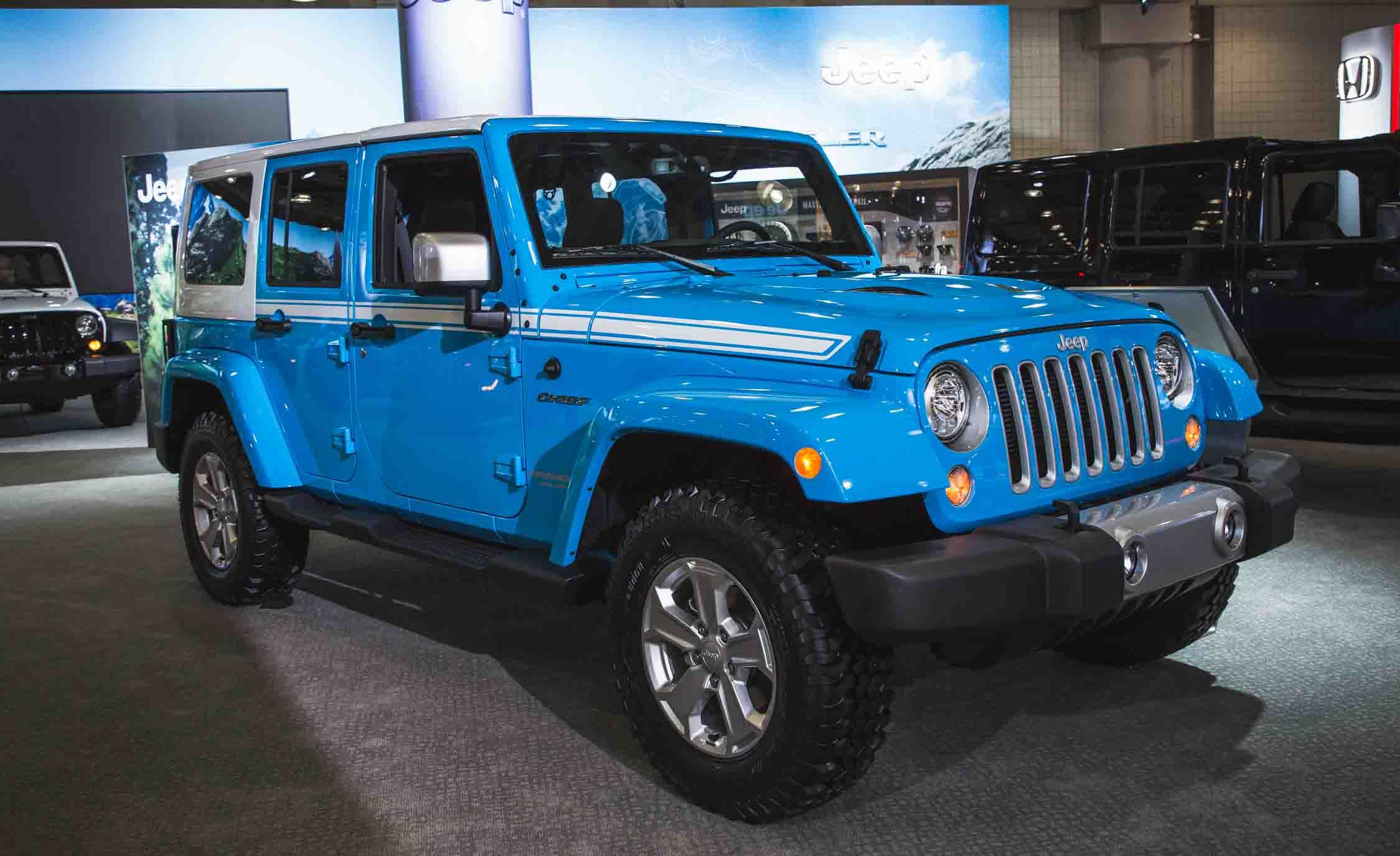 the jeep wrangler chief limited edition is a thing | news | car