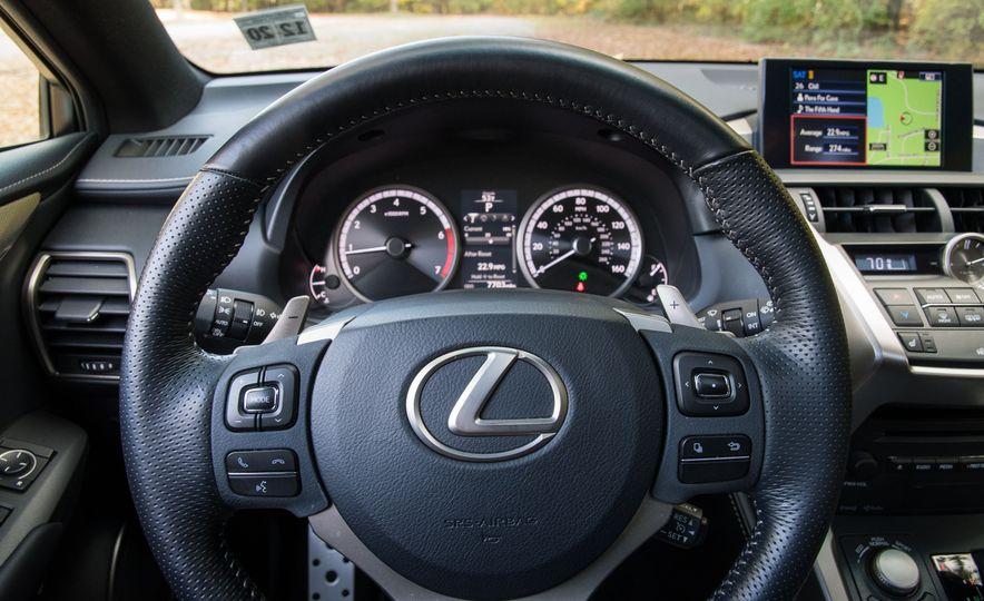 2017 Lexus NX200t F Sport - Slide 42