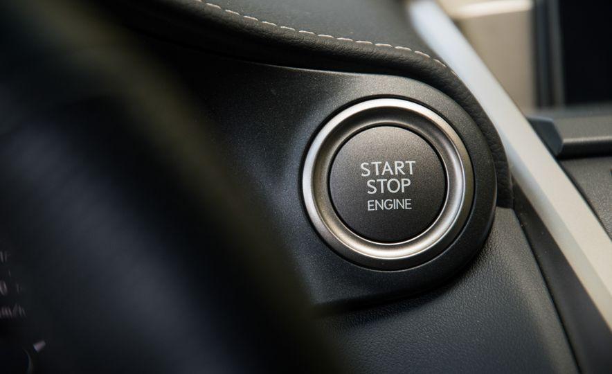 2017 Lexus NX200t F Sport - Slide 50