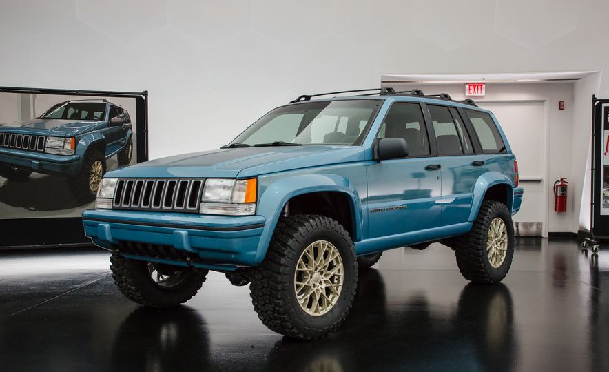 Jeep's New Concepts Include a Bitchin' Rat Rod, a Safari-Ready Wrangler, and . . . a 1993 Grand Cherokee? - Slide 2