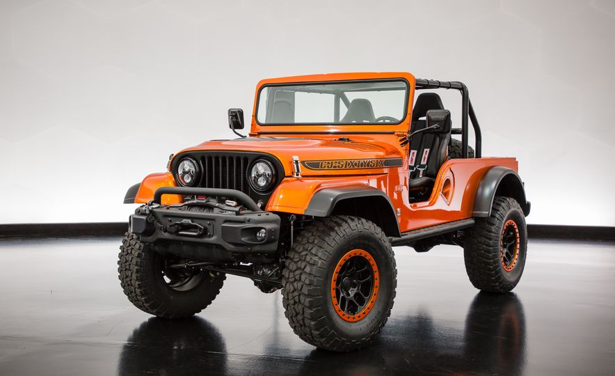 Jeep's New Concepts Include a Bitchin' Rat Rod, a Safari-Ready Wrangler, and . . . a 1993 Grand Cherokee? - Slide 7