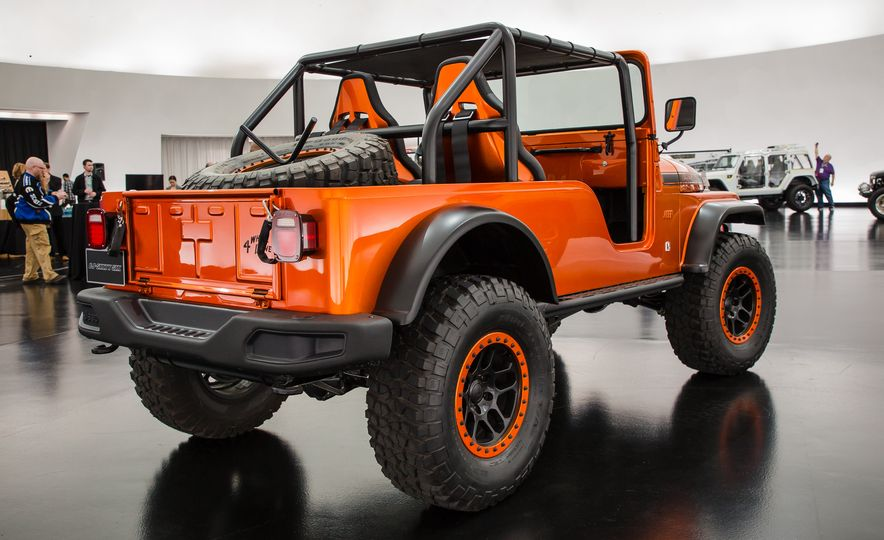 Jeep's New Concepts Include a Bitchin' Rat Rod, a Safari-Ready Wrangler, and . . . a 1993 Grand Cherokee? - Slide 8