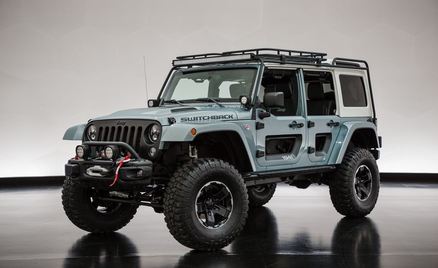 Jeep's New Concepts Include a Bitchin' Rat Rod, a Safari-Ready Wrangler, and . . . a 1993 Grand Cherokee? - Slide 27