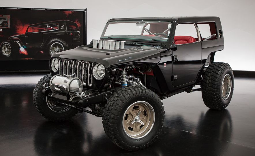 Jeep's New Concepts Include a Bitchin' Rat Rod, a Safari-Ready Wrangler, and . . . a 1993 Grand Cherokee? - Slide 17