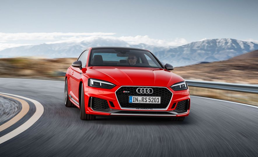 2018 Audi RS5 Sportback (artist's rendering) - Slide 3