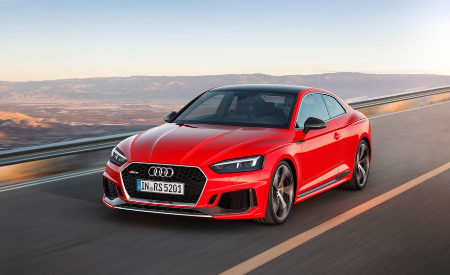 2018 Audi RS5 Sportback (artist's rendering) - Slide 4