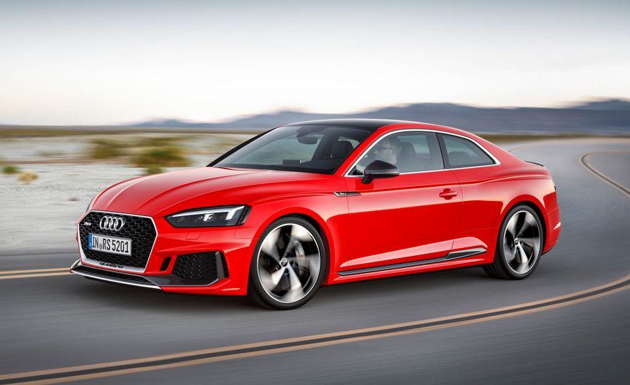 2018 Audi RS5 Sportback (artist's rendering) - Slide 5