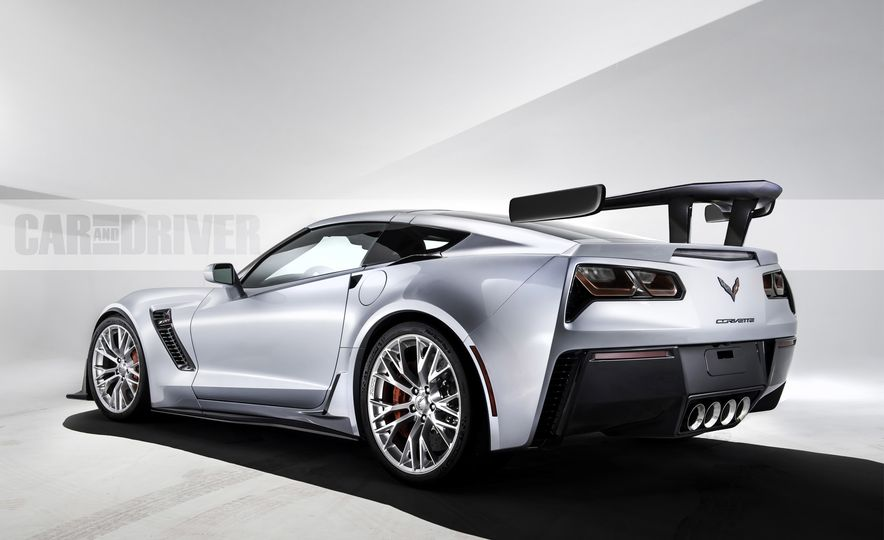 2018 Chevrolet Corvette ZR1 (spy photo) - Slide 27
