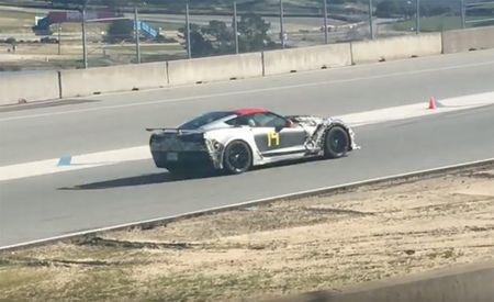 Listen to the 2019 Chevrolet Corvette ZR1 at Laguna Seca, Sounding 'Murican as Hell [Video]