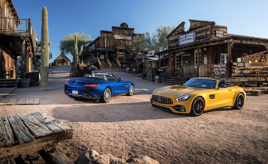 2018 Mercedes-AMG GT C Roadster and 2018 Mercedes-AMG GT Roadster - Slide 1