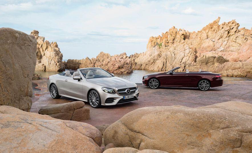 2018 Mercedes-Benz E-class cabriolet - Slide 16