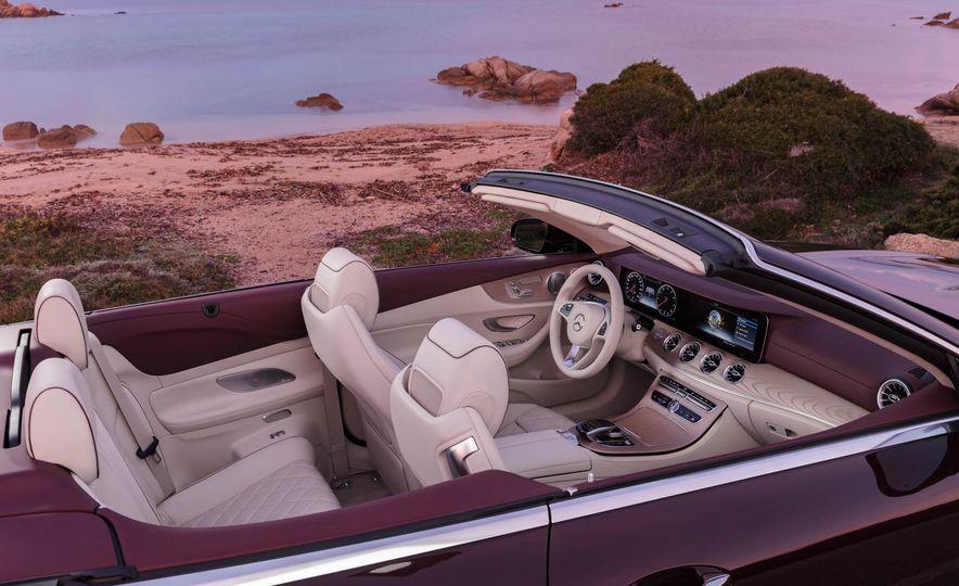 2018 Mercedes-Benz E-class cabriolet - Slide 41