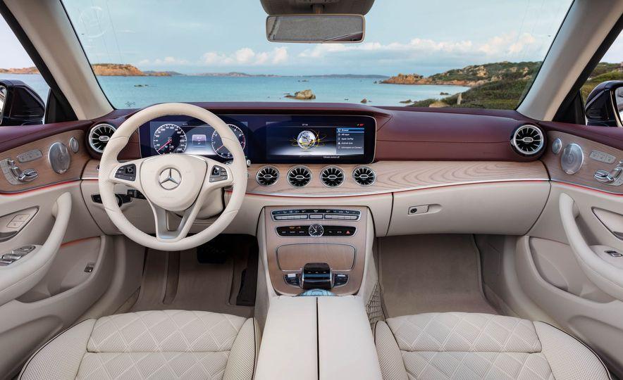 2018 Mercedes-Benz E-class cabriolet - Slide 42
