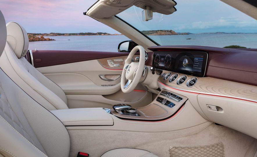 2018 Mercedes-Benz E-class cabriolet - Slide 43