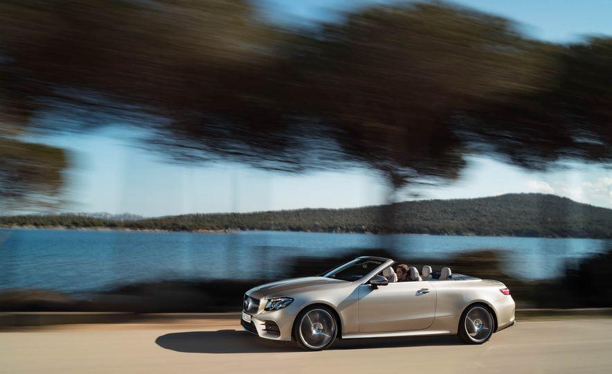 2018 Mercedes-Benz E-class cabriolet - Slide 47