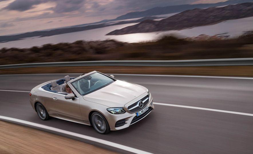 2018 Mercedes-Benz E-class cabriolet - Slide 51