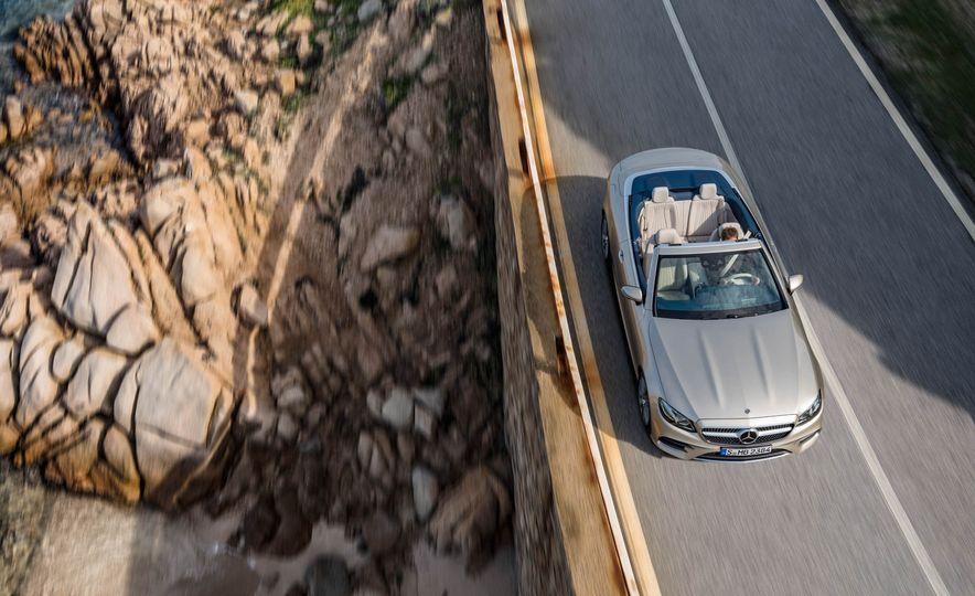 2018 Mercedes-Benz E-class cabriolet - Slide 56