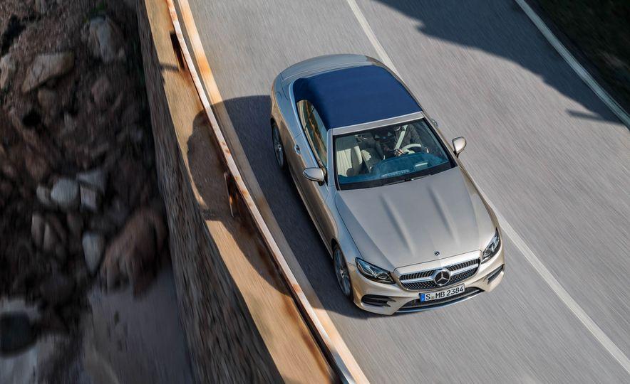 2018 Mercedes-Benz E-class cabriolet - Slide 57