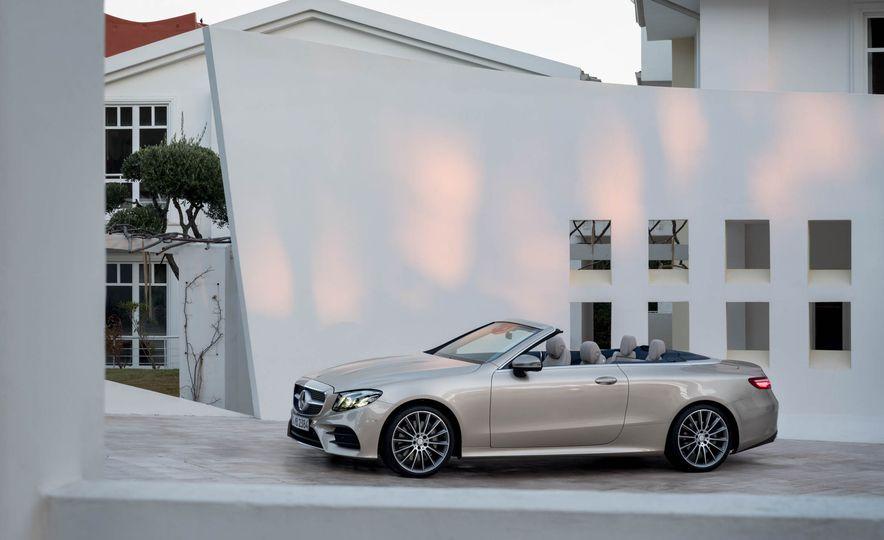 2018 Mercedes-Benz E-class cabriolet - Slide 59