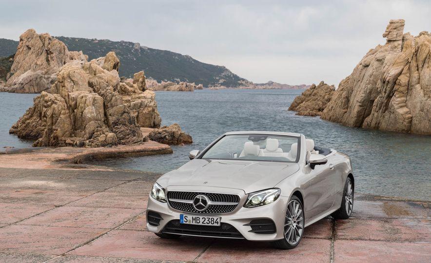 2018 Mercedes-Benz E-class cabriolet - Slide 68