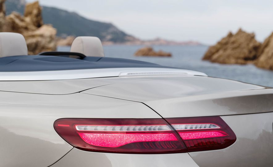 2018 Mercedes-Benz E-class cabriolet - Slide 76